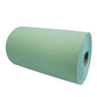 Green-Roll-Towels-1ply-8""