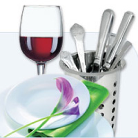 Cutlery, Crockery & Glassware