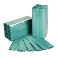 C-Fold-Hand-Towels-1ply-Green
