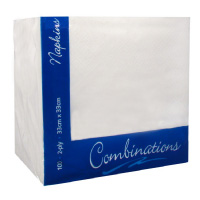 Napkins Ice White 40cm 2ply