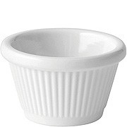 Melamine Fluted Ramekin 1oz (3cl) Case of 12