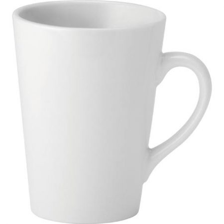 Pure White Latte Mug 12oz (34cl) Case of 6