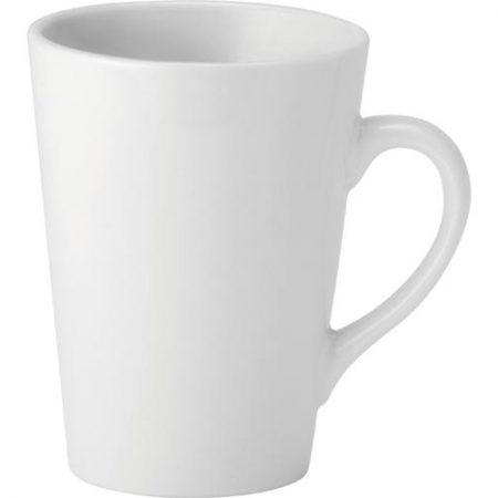 Pure White Latte Mug 8.5oz (24cl) Case of 6