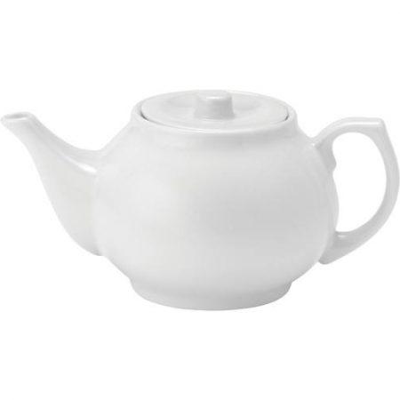 Pure White Teapot 30oz (82cl) Case of 12