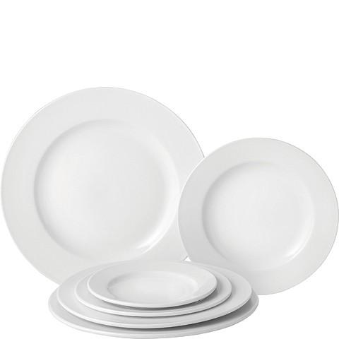 Pure White Wide Rim Plate 11.5' (29cm) Case of 6