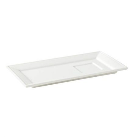 Anton Black Madison Plate with Indent 8.5'' (22cm) Case of 6