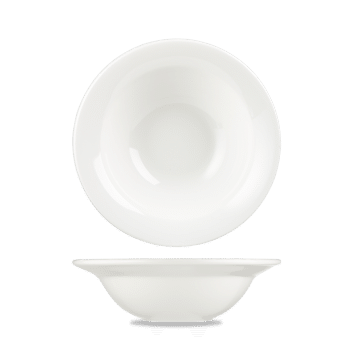 Churchill Alchemy White Round Bowl – 7.75 (19.5cm) 340ml (12oz) – 12