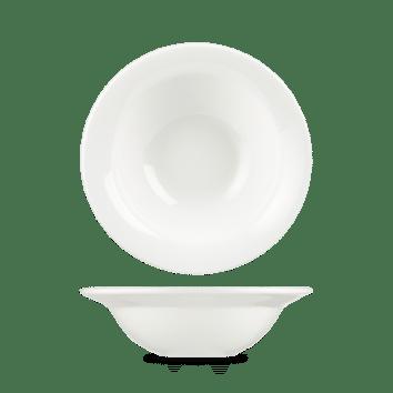Churchill Alchemy White Round Bowl – 7.75 (19.5cm) 340ml (12oz) – 12