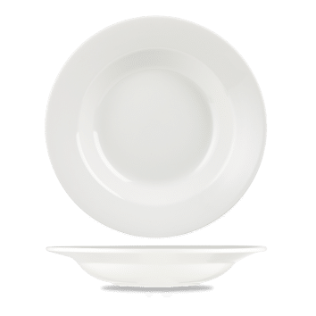 Churchill Alchemy White Round Pasta Bowl 11.75 (30.6cm) 798ml (29oz) - 12