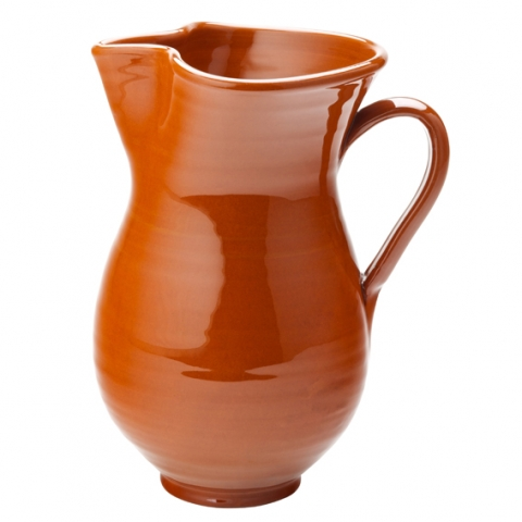 Estrella Terracotta Sangria Jug 1L (35oz) Case of 6