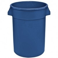 Huskee Round Container Blue 75lt