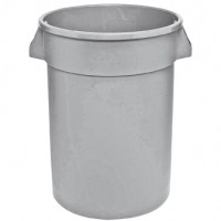 Huskee Round Container Grey 75lt