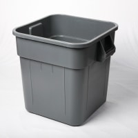 Huskee Square Container Grey 140lt