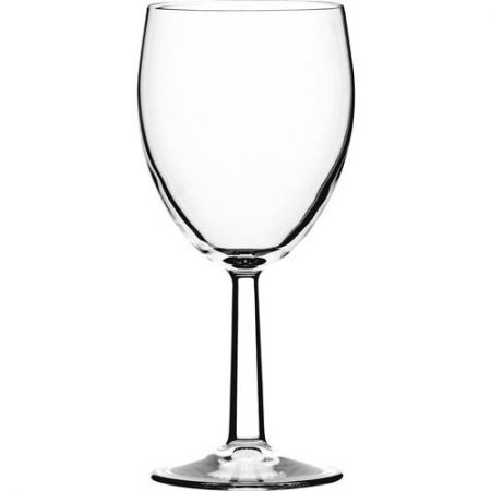 Saxon Wine Glasses 12oz Toughened Lined @ 250ml CE Case of 12