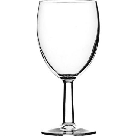 Saxon Wine Glasses Toughened 7oz Lined @ 125ml CE Case of 12