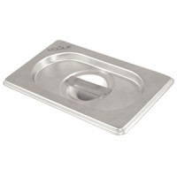 Vogue Stainless Steel One Quarter Gastronorm Lid