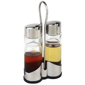 Oil And Vinegar Cruet Set And Stand Cf296 Portland