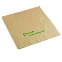 Swantex Recycled Kraft Napkins 33cm 2ply