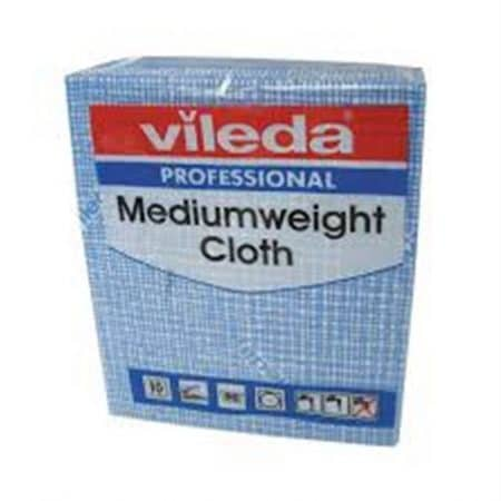 Vileda Mediumweight Cloths Blue