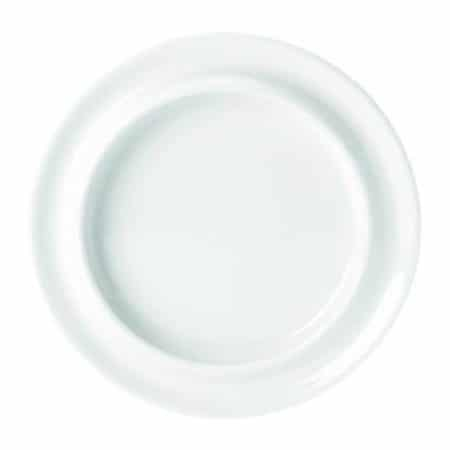 Freedom Simplicity (White) Hospitality Plate 21.6cm Pack 12