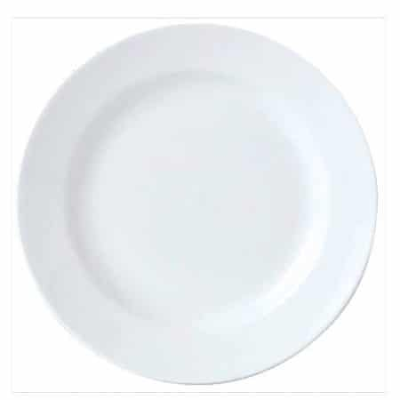 Simplicity White Harmony Plate 25.5cm Pack 24