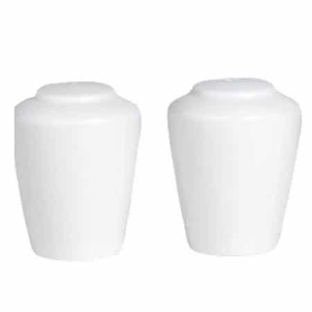 Simplicity White Harmony Salt and Pepper Pack 12