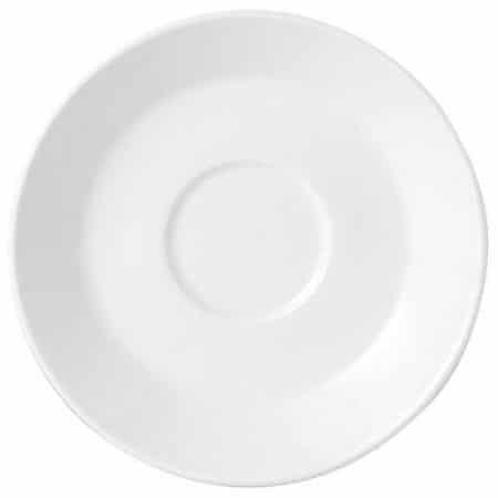 Simplicity White Harmony Slimline Saucer 15.25cm Pack 36