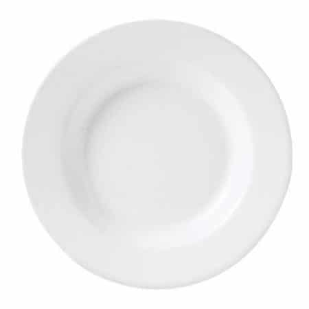Simplicity White Harmony Soup Plate 24cm Pack 24