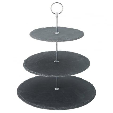 3 Tier Slate Platter