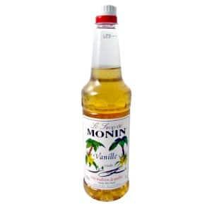 Monin Vanilla Syrup 1lt