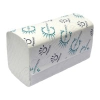 V Fold Hand Towels 2ply White 3150 Sheets