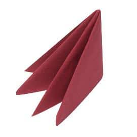 Swansoft Ready Fold Red Napkins Pack 1000