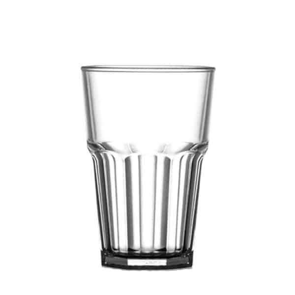 Re-Useable Hiball and Tumbler Glasses