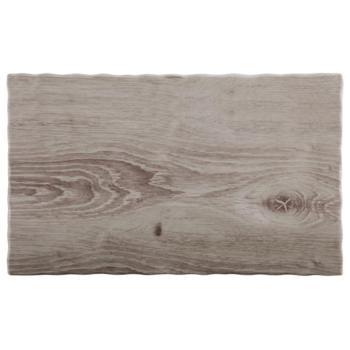 Melamine ''Wood'' Tray 26.5 x 16.2cm