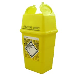 Sharps Disposal Box 1lt