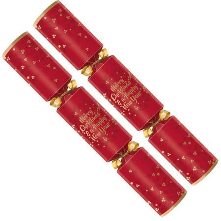 "11"" Twelfth Night Party Crackers Pack 50"