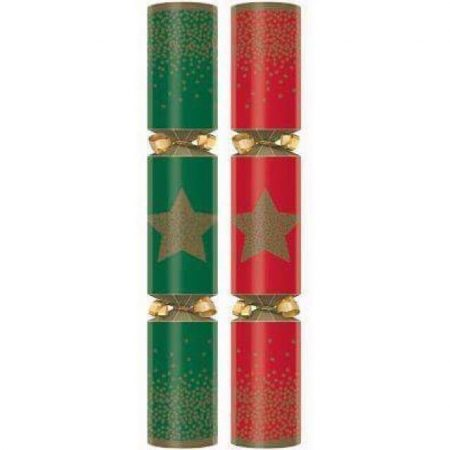 "11"" Festive Star Cracker Pack 100"