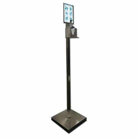 Hand Sanitising Stand Stainless Steel
