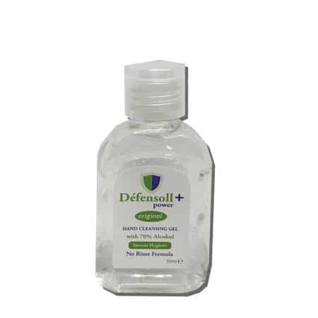 Hand Sanitising Gel 70% Alcohol 50ml